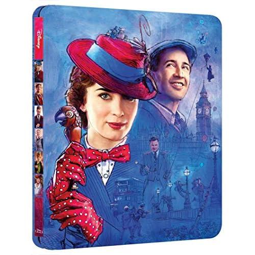 mary poppins il ritorno steelbook ( Blu Ray)