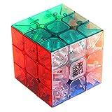MoYu 3x3 1 X 3x3x3 YJ Yulong Stickerless Cube Puzzle Transparent 1 - Pack .HN#GG_634T6344 G134548TY21235