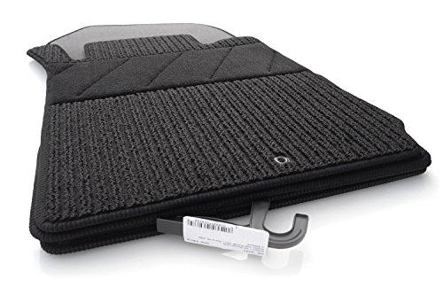 kh Teile Fußmatten/Rips Automatten Original Qualität, Ripsmatten 4-teilig, schwarz