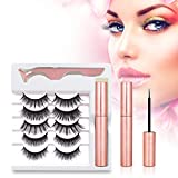 Magnetic Eyelashes with Eyeliner, Charming Eyelashes