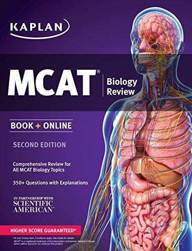 Kaplan MCAT Biology Review: Book + Online (Kaplan Test Prep)
