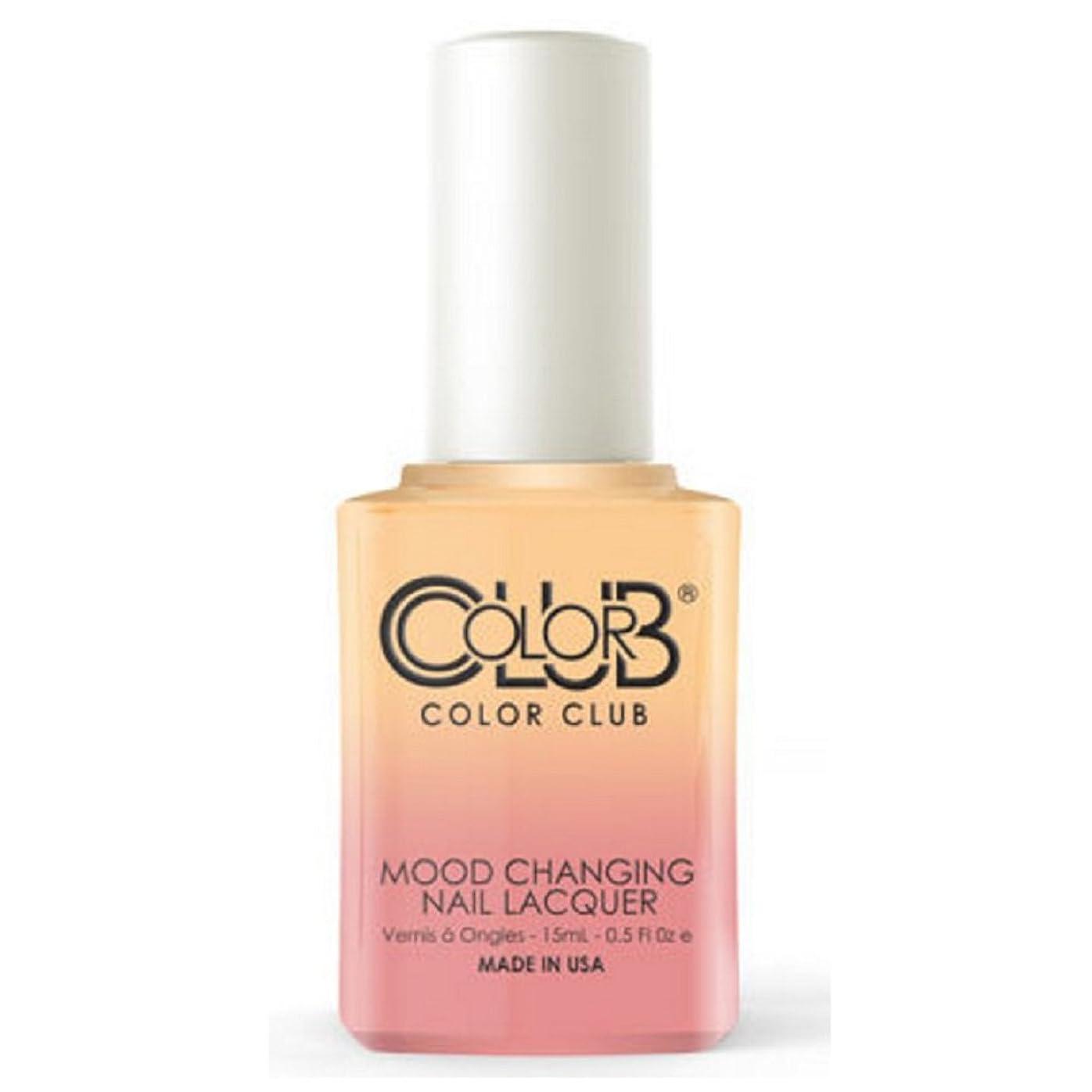 不屈冷淡なのぞき見Color Club Mood Changing Nail Lacquer - Happy Go Lucky - 15 mL / 0.5 fl oz