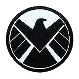 Marvel S.H.I.E.L.D. Agent Uniform Logo IronOn Patch Nick Fury Costume Applique