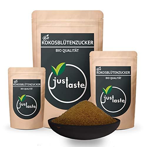 1 kg Kokosblütenzucker   GRÖSSENAUSWAHL   aus kontrolliert biologischem Anbau   Zuckerersatz   natürlicher Zucker   Kokosblüten (1 kg)
