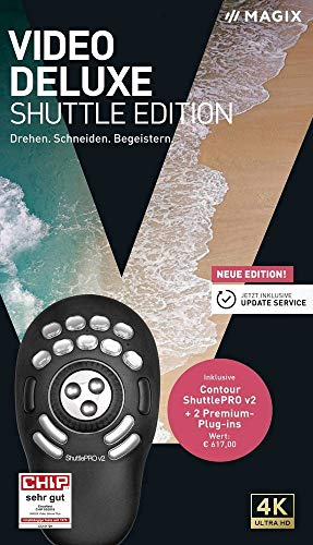 Magix Video Deluxe Shuttle Edition Vollversion, 1 Lizenz Windows Videobearbeitung