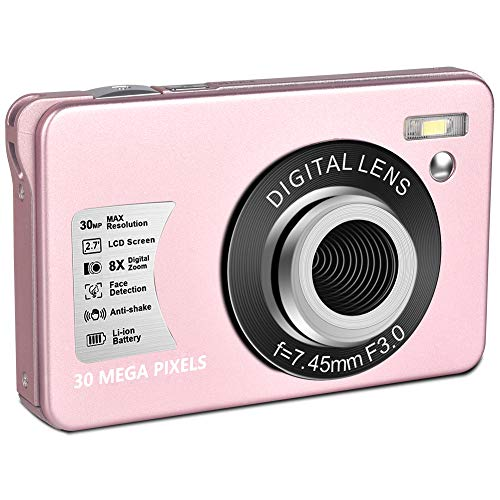 digital-camera-hd-1080p-vlogging-camera-30-mp-mini-cheap-camera-2-7-inch-lcd-screen-camera-with-8x-digital-zoom-compact-cameras-for-adult-kids-beginners-pink