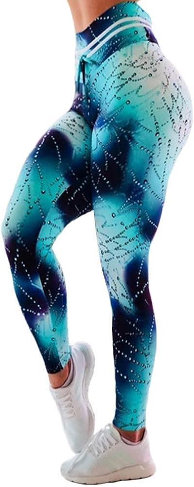 MOMTUESDAYS2 Womens Glitter Rhinestone Colorful High Waist Leggings Pants