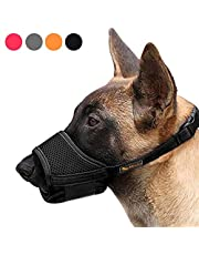 HEELE Hond Muilkorf Ademend en Duurzaam Hond Muilkorven Voorkomen voor Bijten en Kauwen, Muilkorf voor Kleine, Middelgrote, Grote Honden