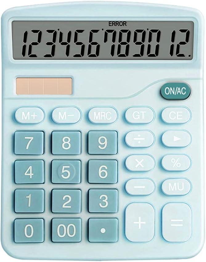 sgzyj Calculator 12 Digits Electronic Ranking TOP3 LCD Large Minneapolis Mall C Screen Desktop