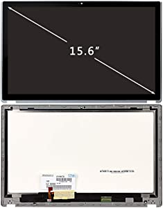 FIRSTLCD LCD Touch Screen Replacement Fit for Acer Aspire V5-571P V5-571PG MS2361 V5-571PG-9814 V5-571P-6866 V5-571P-6400 60.M48N1.003 6M.M9DN1.002 LED Display Digitizer Assembly Bezel 15.6