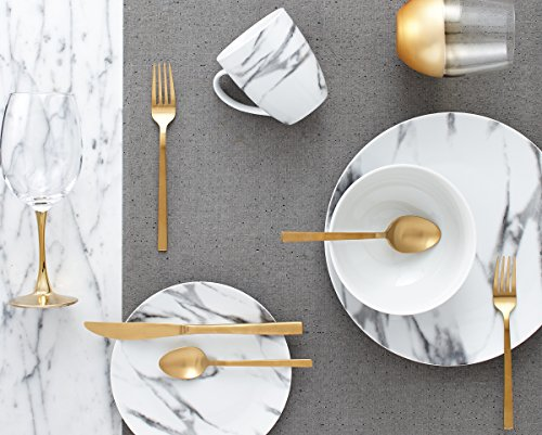 Dinnerset-16Pcs Coupe Marble
