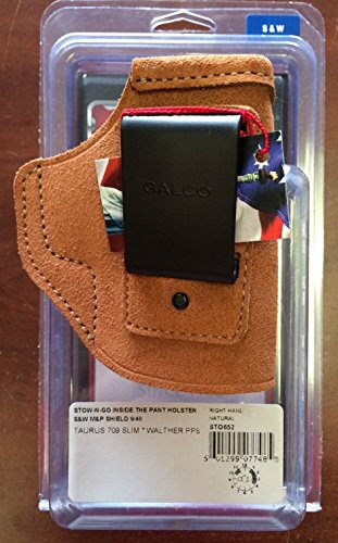 Galco Stow-N-Go Inside The Pants Holster Smith & Wesson M&P Shield 9mm/40