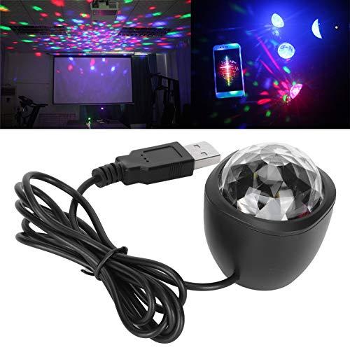 Luces de DJ, luces de escenario LED portátiles, para el hogar de la barra de la fiesta del coche