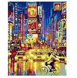 Calles abstractas de San Francisco Cuadros de paisajes Pinturas sobre lienzo Arte de la pared para...