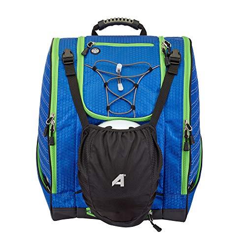 Athalon Everything Skischuhtasche und Rucksack Plus, Kobalt/Mint