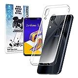 シズカウィル(shizukawill) ASUS Zenfone 5 ZE620KL ケース TPU 高透明 耐衝撃 衝撃吸収 Zenfone5 ZE620KL ソフト クリア ケース カバー