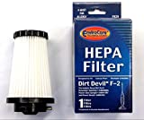 3 Envirocare Hepa Filters to fit Dirt Devil F2