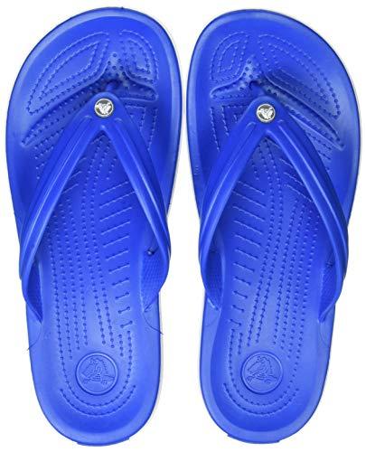 crocs Unisex-Erwachsene Crocband Flip Flop Zehentrenner, Blau, 43/44 EU