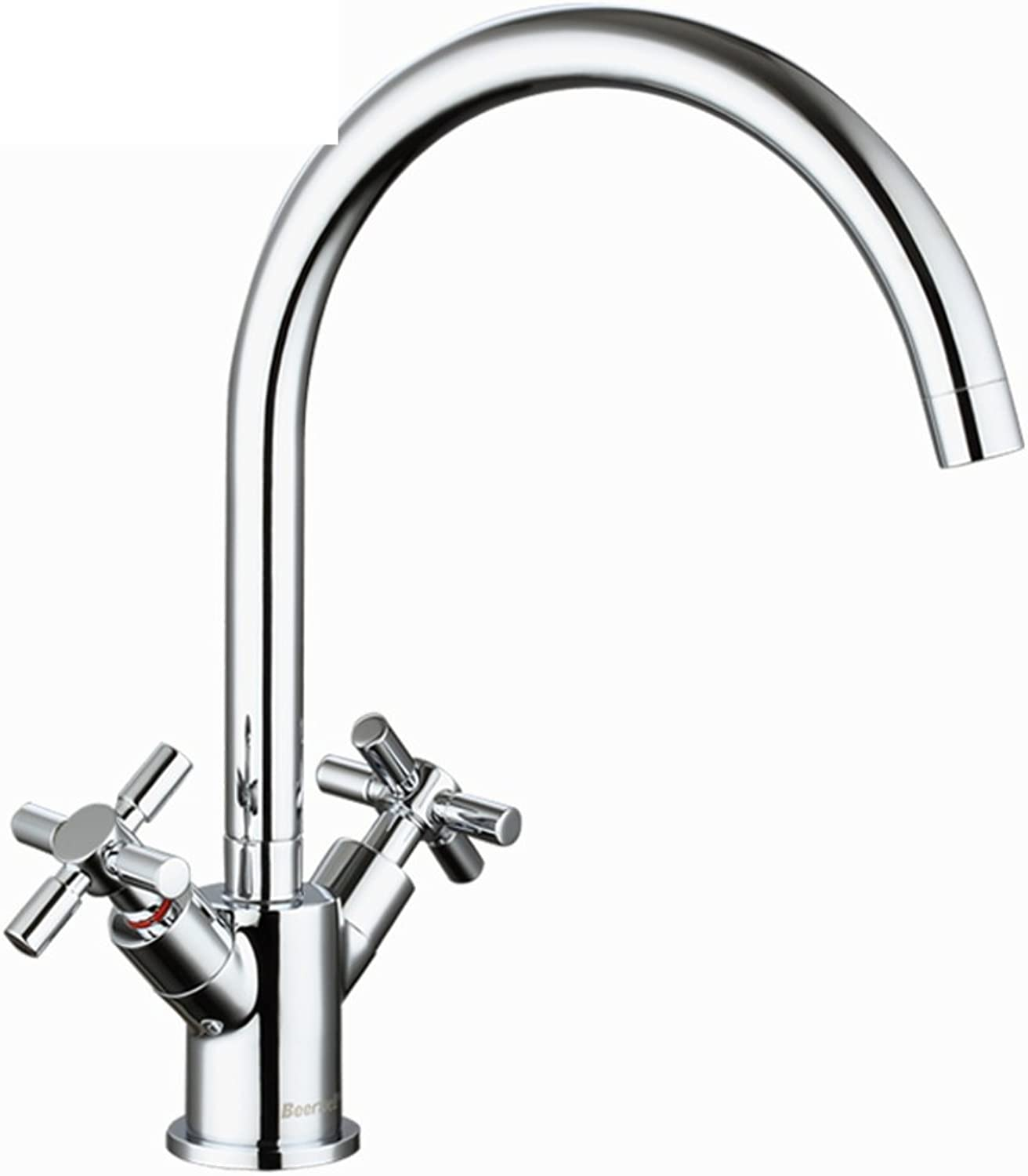 ZHF Kitchen faucet hot and cold Vegetables basin faucet Sink faucet redary swivel