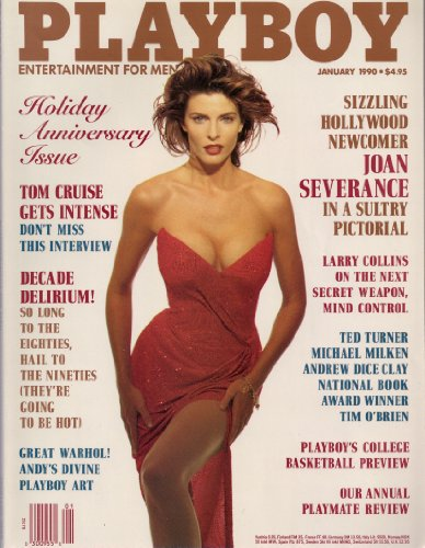 US Playboy Magazin Januar 1990 Zeitschrift Original Ausgabe USA 1/1990 Peggy McIntaggart Joan Severance Tom Cruise Andrew Dice Clay