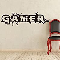 Adhesivo Decorativo Pared Pegatinas de Pared Gamer para Dormitorios, Salones,...