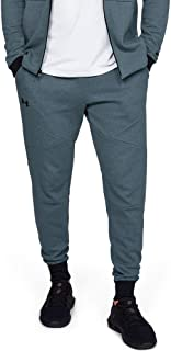 Under Armour Men's Unstoppable 2X Knit Jogger Pants, Grey (Wire/Black), 2X-Large
