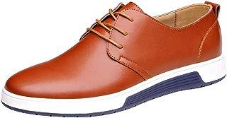 Hunzed men shoes Men's lace Business Dress Shoes Casual Shoes