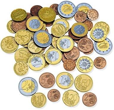 Argent Fictif de Jeu Jouer Apprendre Enfants École Cent Euro Pièce Monnaie