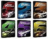 Fast & Furious 1 - 6 - Exklusiv 6 limitierte Steelbook Editionen (Deutsche Auflage) Blu-ray