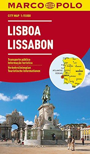 MARCO POLO Cityplan Lissabon 1:15.000: Lisboa / Lisbon / Lisbonne. Verkehrslinienplan, Straßenverzeichnis, touristische Informationen (MARCO POLO Citypläne)