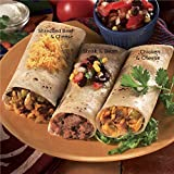 Burrito Fiesta, 6 Burritos (2 of each flavor) from The Swiss Colony