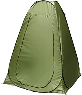 Portable Pop Up Changing Tent -Outdoor Camping Shower Tent-Camp Toilet-Roomy Privacy Tent-Instant Dressing Room-Rain Shelter-Easy Up-Lightweight but Sturdy-Color Green