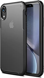 YEESOON iPhone XR Case, Ultra-Thin Frosted Transparent Back Cover Shock Absorption Anti-Fall Flexible Ultra-Light Case for...