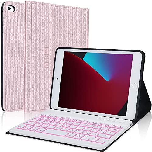 "Keyboard Case for iPad Mini 5th Generation / 4th / 3rd / 2nd / 1st, Detachable Wireless - Stand Folio Keyboard Cover for New iPad Mini 7.9"" - iPad Mini Keyboard for Tablet"