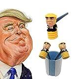 Donald Trump poupée crayon marteau frapper musique jouet marteau acclamations accessoires 3 crayons
