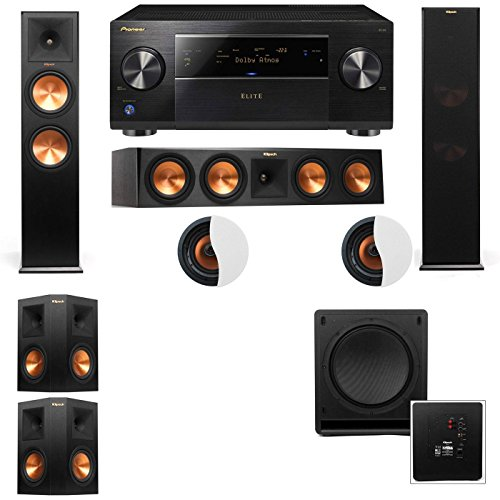 Best Price Atmos 5.1.2 Klipsch RP-280F Tower Speakers SW-112 with SC-85
