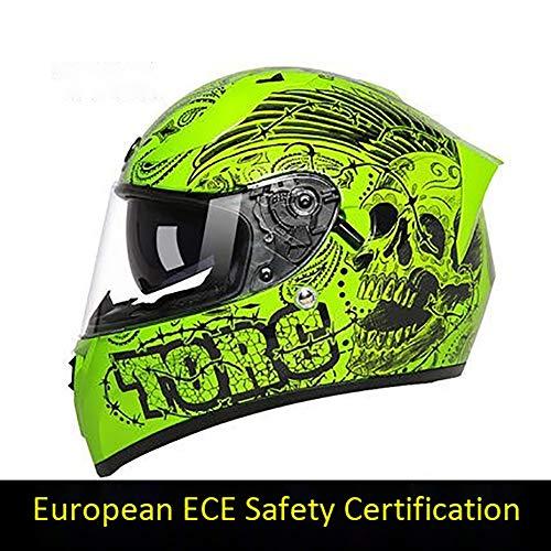 Verhaal van het leven Motocross Helm BMX Anti-botsing Racing Helm Off-Road Motorhelm Outdoor Riding Protection Equipment ECE Certificering voor volwassenen