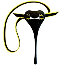 Finis 1.05.045 Plastic Posture Trainer, One Size (Black/Yellow)