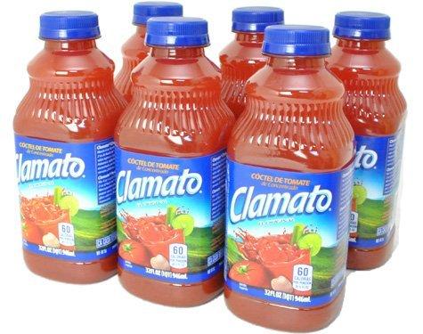 Motz Clamato bottiglie di succo di pomodoro 945mlX6 impostati pezzi