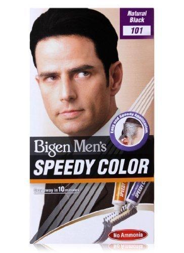 Bigen Speedy Color Haarfarbe für Herren, natürliches Schwarz