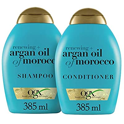 OGX Nourishing + Coconut Milk Shampoo & Conditioner Set, 13 Ounce (packaging may vary), White