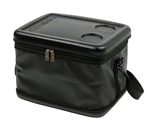 キャプテンスタッグ(CAPTAIN STAG) 保冷バッグ 【容量25L/折り畳み収納可】 スーパーコールド クーラーバッグ ブラック UE-577
