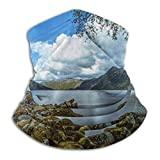 Montañas Paisaje Naturaleza Montaña Moda Caliente Esquí Microfibra Cuello Calentador