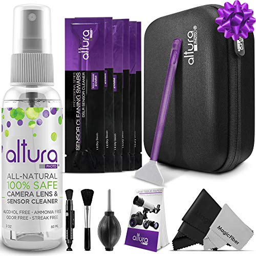 Altura Photo Professional Cleaning Kit Full Frame DSLR Cameras Sensor Cleaning Swabs with Carry Case
