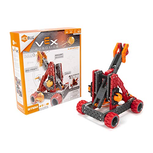 HEXBUG VEX Robotics Catapult Kit 2.0, STEM Learning, Toys for Kids (Red)