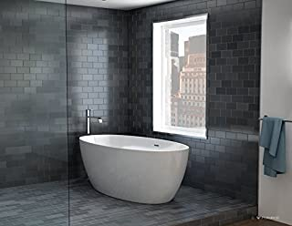 petite freestanding bath