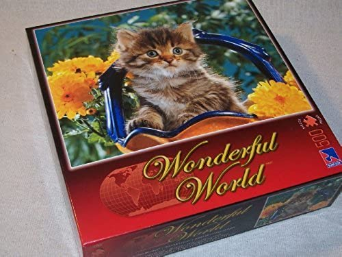 barato Wonderful World Series Jigsaw Jigsaw Jigsaw Puzzle by Sure-Lox  KITTEN BOUQUET - 500 pieces. by Sure-Lox  ¡envío gratis!