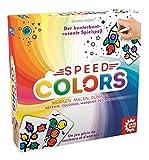 Game Factory - 646193 - Speed Colors - Jeu de coloriage - Jeu de coloriage - Jeu de société - Multicolore - À partir de 5 Ans