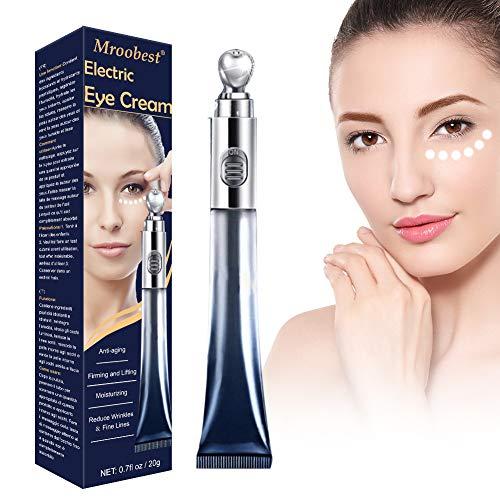 Antialterung Augencreme, Tränensäcke Entfernen, Augencreme, Elektrische Augencreme mit Hyaluronsäure, Kann die Haut beruhigen, Krähenfüße Und Dekret verhindern und die Haut glatt und fest machen