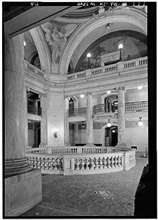 HistoricalFindings Photo: Hudson County Courthouse,583 Newark Avenue,Jersey City,New Jersey,NJ,HABS,21